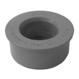 Floplast Grey Solvent Boss Adaptor 40mm - (SP21)
