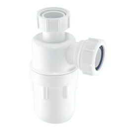 Water Seal Bottle Trap with Multi Fit Outlet - 32mm x 76mm - (A10)