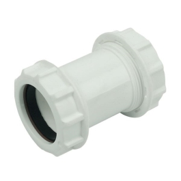 Compression Waste Straight Connector 40mm - (308337)
