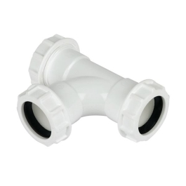 Compression Waste - Tee 40mm - (9WCT40)