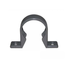 Solvent Weld 40mm - Grey - Pipe Clip
