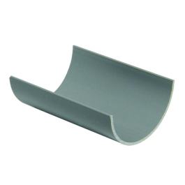 Rainwater Grey Gutter - 2Mt x 76mm - (66026000)