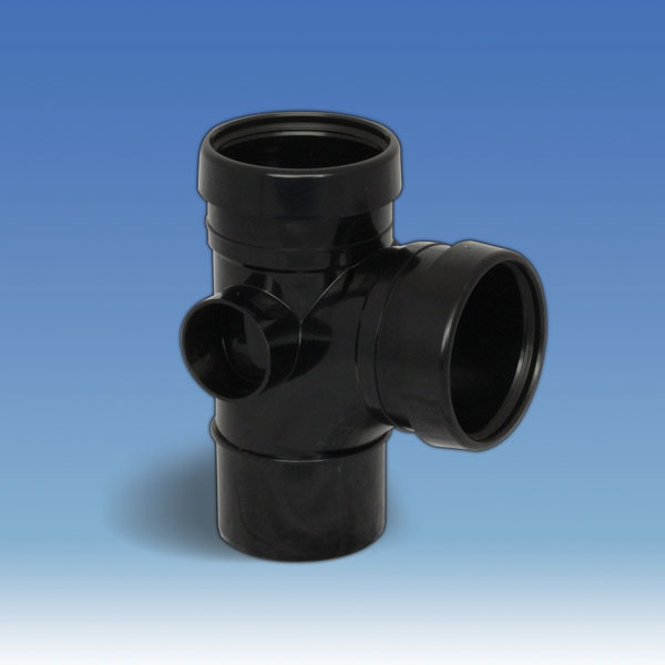 Soil Pipe Branch - Double Socket 92.5D