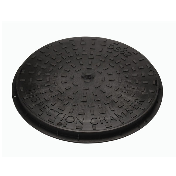 Manhole Cover 450mm Round - Plastic Frame & Seal - (MCCRPL)
