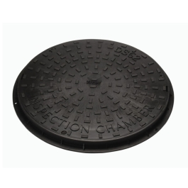 Manhole Cover 320mm Round - Plastic - Sealed Cover & Frame