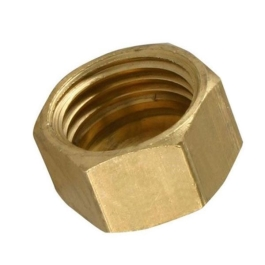"Brass Compression - Blanking Nut & Washer 1/2"" - (348985)"