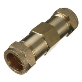 Brass Compression - Burst Repair Coupler 15mm - (9CCBR15)