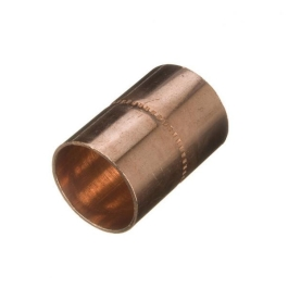 Copper Coupler 15mm - Endfeed - (Pack of 25) - (431115)