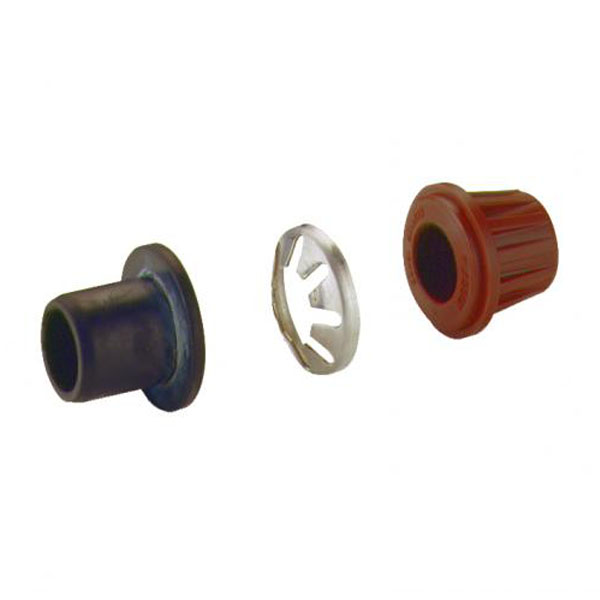 MDPE Blue Pipe Copper Adaptor Set - 25mm to 15mm