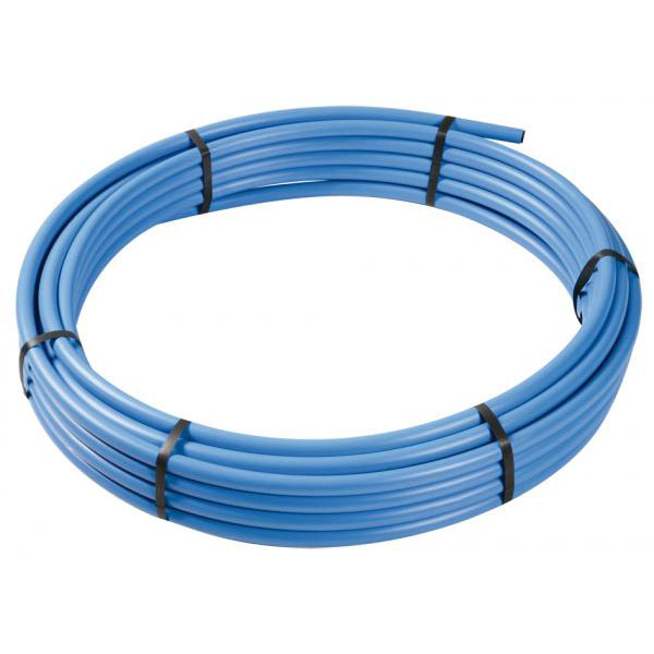 MDPE Blue Pipe 25mm x 25Mt Coil - (64000638)