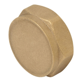 "Brass Cap 1/2"" - (Pack of 2) - (348616)"