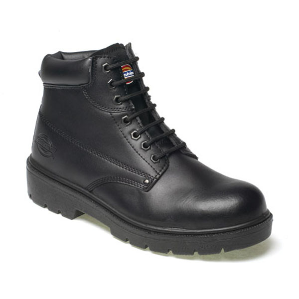 Dickies Antrim Safety Boots - Black - Size 8