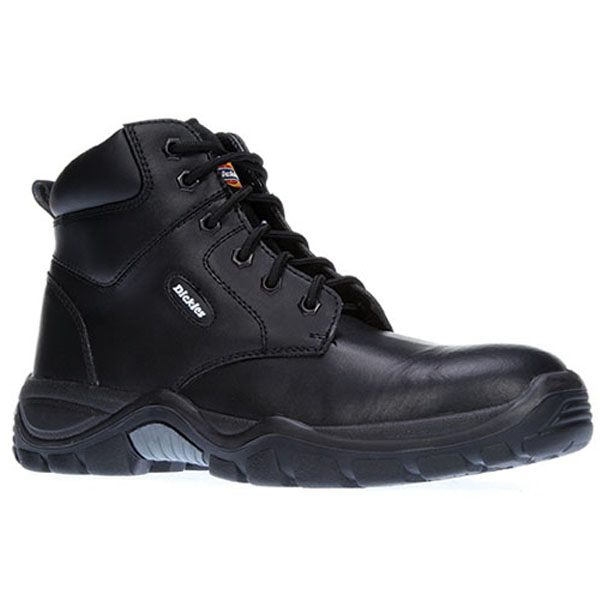 Dickies Newark Safety Boots - Black - Size 8