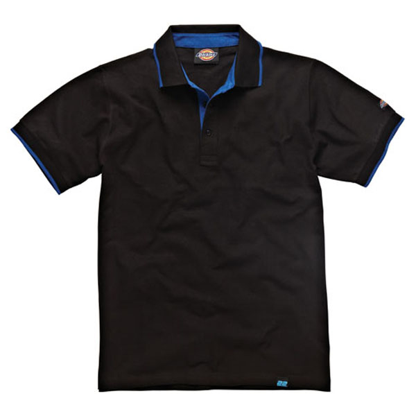 Dickies Anvil Polo Shirt - Black - Large