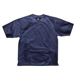Dickies Cotton T-Shirt - Large - Navy Blue