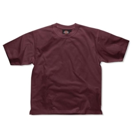 Dickies Cotton T-Shirt - Medium - Burgundy