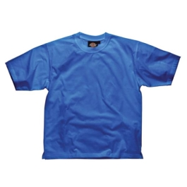 Dickies Cotton T-Shirt - Medium - Royal Blue