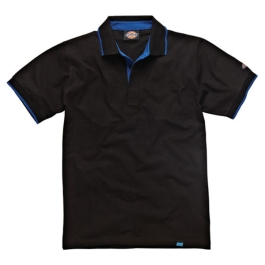 Dickies Anvil Polo Shirt - Black - Extra Large