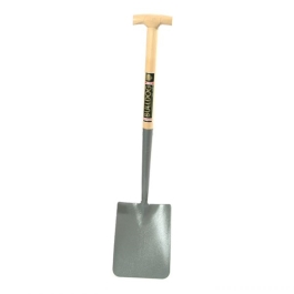 Bulldog Shovel - Short Square Mouth - T Handle