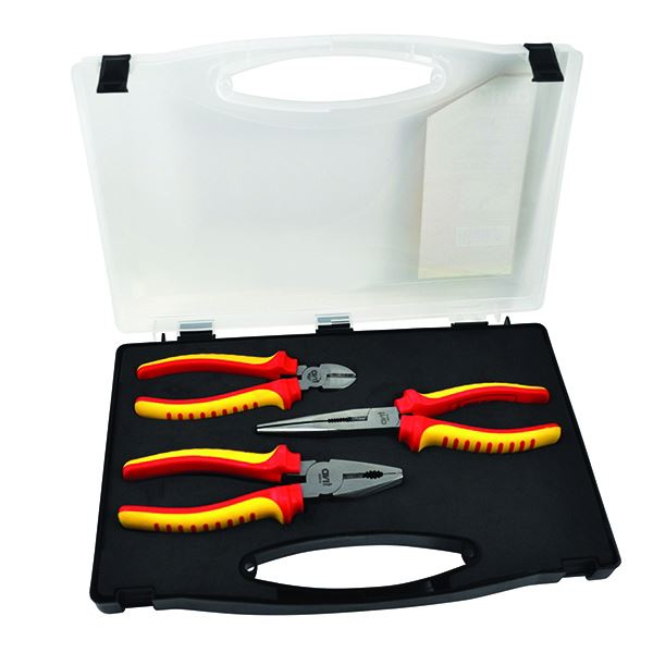 C.K AVIT - Insulated Pliers - 3Pc Set