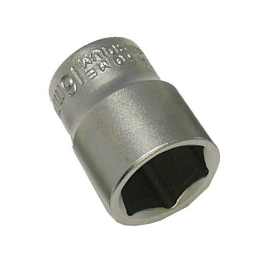 "Faithfull Hexagonal Socket 3/8"" - 15mm"