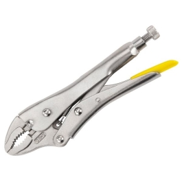 Stanley Locking Pliers 225mm - Curved Jaw