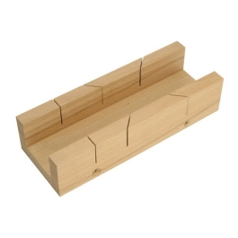 "Faithfull Mitre Box - 12"" Wooden"
