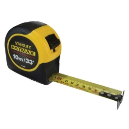 Stanley Tape Measure 10Mt - FatMax