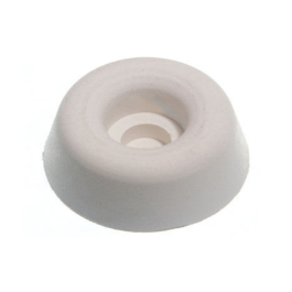 Chair Buffers 22mm - White - (Pack of 4) - (004420N)