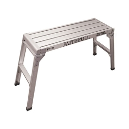 Faithfull Step Up Work Platform - Aluminium