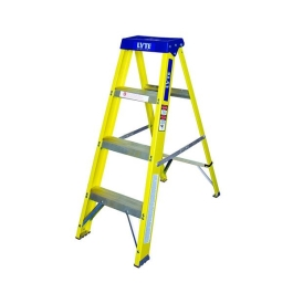 GRP Step Ladder - Yellow - 4 Tread