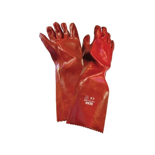 Scan Gloves - PVC Gauntlet 45cm