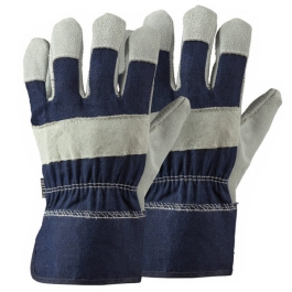Briers Rigger Gloves - Mens - Large - (Navy / Grey)