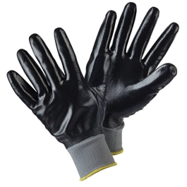 Briers Water Resistant Gloves - Large - (Black)