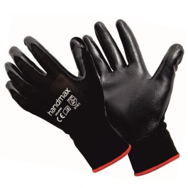 Handmax Gloves - Black Nitrile - (Michigan)
