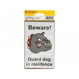 Centurion Sign - Beware Guard Dog (2)