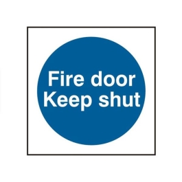 Centurion Sign - Fire Door Keep Shut
