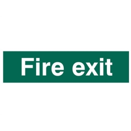 Centurion Sign - Fire Exit