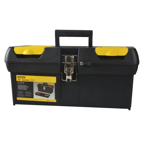 "Stanley Toolbox 16"" - Metal Latch"