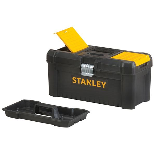 "Stanley Toolbox 16"" - Metal Latch - Essential"