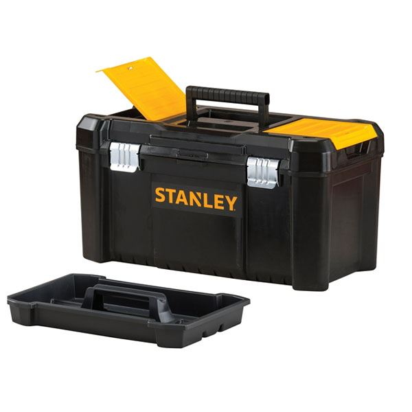 "Stanley Toolbox 19"" - Metal Latch - Essential"