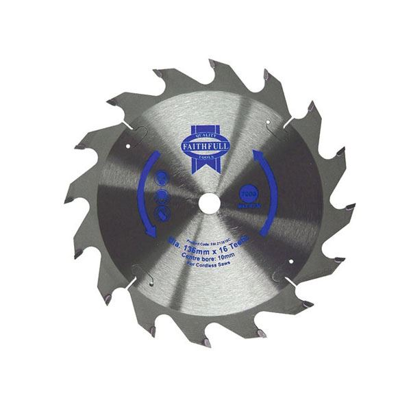 Faithfull Circular Saw Blade - 150mm x 24T x 10mm