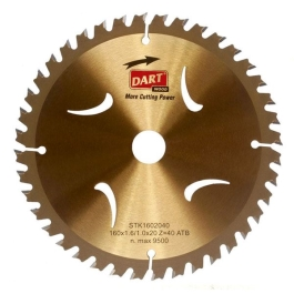 Dart Circular Saw Blade - 165mm x 40T x 20mm (Hole)
