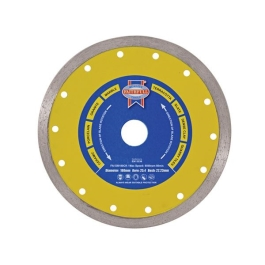 Faithfull Diamond Blade - 180mm x 22.2mm - Tile Continuous Rim