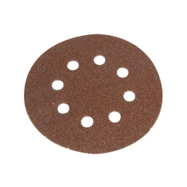 Faithfull Sanding Grip Disc - Hook & Loop - 125mm Very Fine