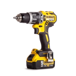 DeWalt Brushless Hammer Drill - 18 Volt - (1 x 5.0Ah Lithium Ion Battery & Charger)