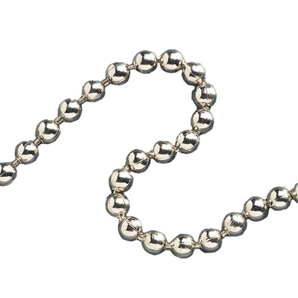Ball Chain 3.2mm - Chrome Plated