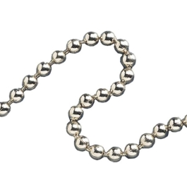 Ball Chain Fittings No.6 - Nickel Plated