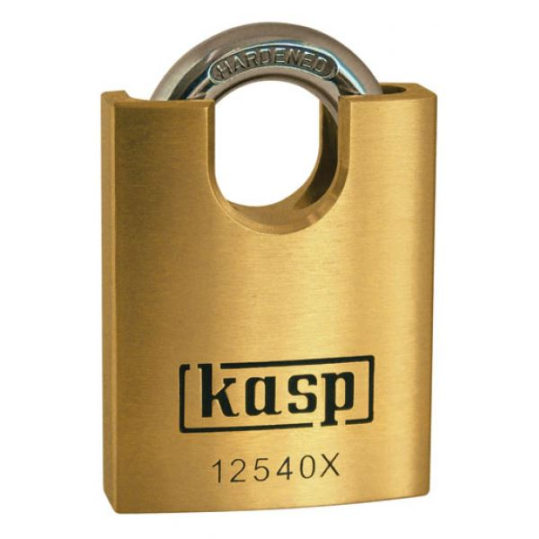 C.K Brass Padlock 40mm - Closed Shackle