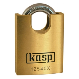 C.K Brass Padlock 50mm - Closed Shackle